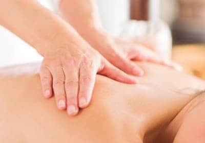 Distelöl zur Massage
